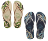 HAVAIANAS SLIM ORGANIC WOMENS FLIP FLOPS from peaknation.co.uk