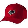 "FOX HEAD ""LEGACY"" FLEXFIT HAT. RED from peaknation.co.uk"
