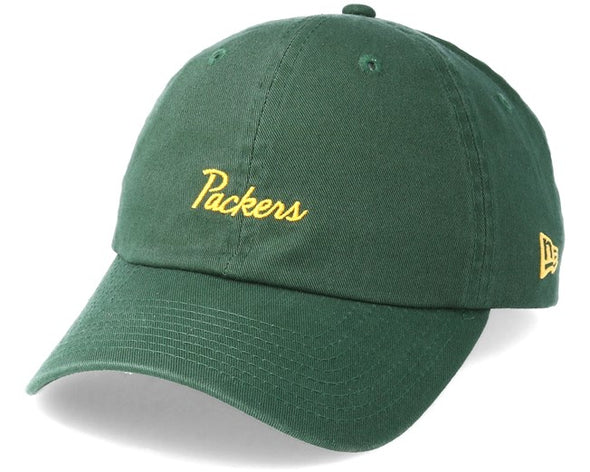 NEW ERA 9FORTY ADJUSTABLE CAP. GREEN BAY PACKERS from peaknation.co.uk