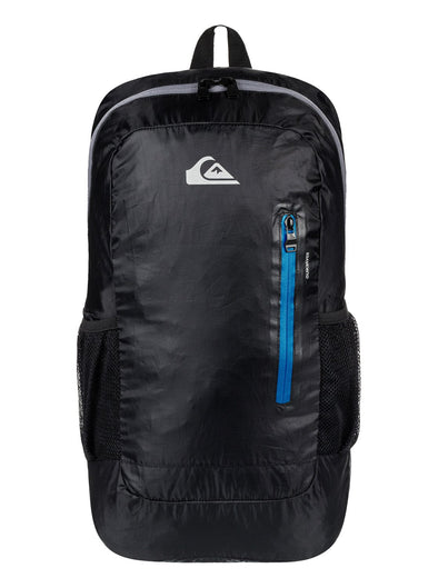 "QUIKSILVER ""OCTO"" PACKABLE 22L BACKPACK. BLACK from peaknation.co.uk"
