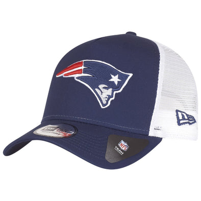 NEW ERA ADJUSTABLE A FRAME TEAM ESSENTIAL NEW ENGLAND PATRIOTS from peaknation.co.uk