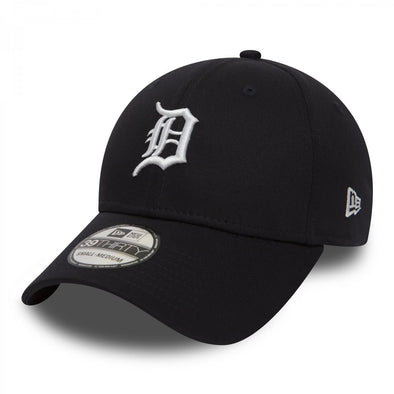 NEW ERA 39THIRTY FITTED CAP. TEAM ESSENTIAL DETROIT TIGERS from peaknation.co.uk