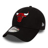 NEW ERA 39THIRTY FITTED CAP. TEAM ESSENTIAL CHICAGO BULLS from peaknation.co.uk