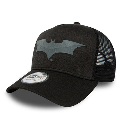 NEW ERA ADJUSTABLE A FRAME TRUCKER. BATMAN CONCRETE JERSEY. GRAPHITE from peaknation.co.uk