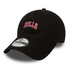 NEW ERA 9FORTY ADJUSTABLE STRAPBACK CAP, NBA WORDMARK CHICAGO BULLS from peaknation.co.uk