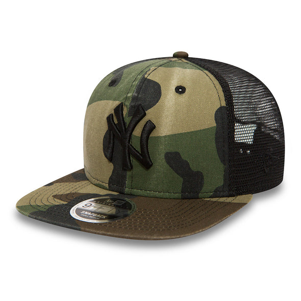 NEW ERA 9FIFTY SNAPBACK CAP. WASHED CAMO NEW YORK YANKEES from peaknation.co.uk