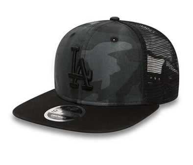 NEW ERA 9FIFTY SNAPBACK CAP. WASHED CAMO LOS ANGELES DODGERS from peaknation.co.uk