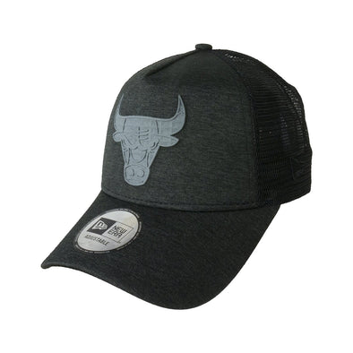 NEW ERA ADJUSTABLE TRUCKER CAP. CONCRETE JERSEY CHICAGO BULLS from peaknation.co.uk