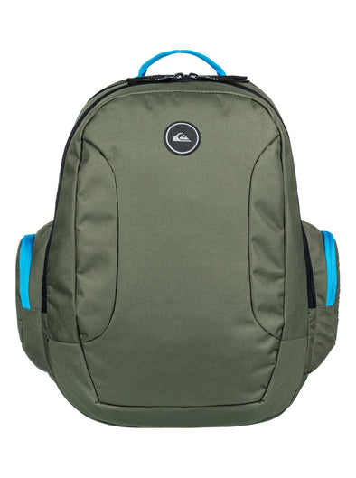 "QUIKSILVER ""SCHOOLIE"" 30L BACKPACK. ATOMIC BLUE from peaknation.co.uk"