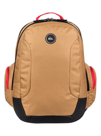 "QUIKSILVER ""SCHOOLIE"" 30L BACKPACK. RUBBER"