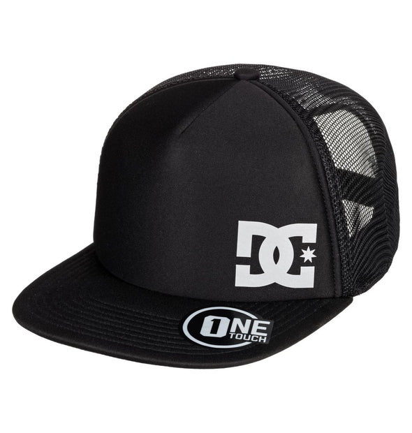 "DC ""GREETERS"" TRUCKER HAT. BLACK from peaknation.co.uk"