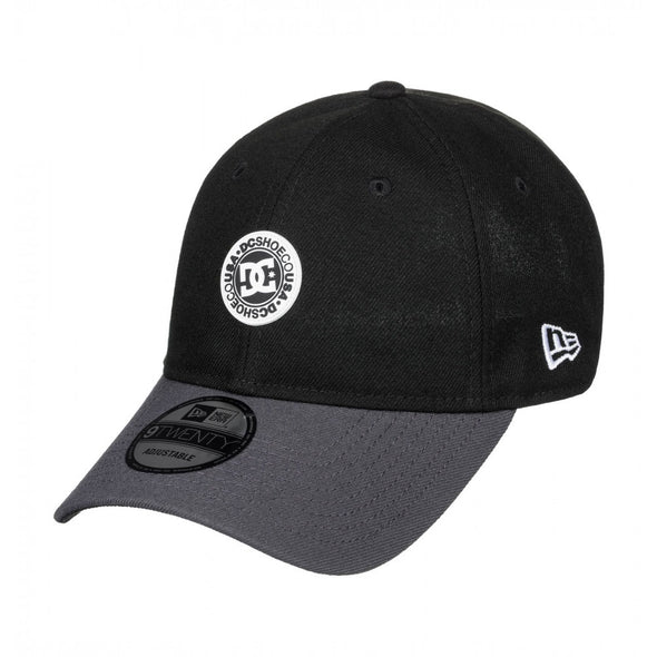 "DC - NEW ERA 9TWENTY ADJUSTABLE ""CROCKER"" DAD CAP. BLACK from peaknation.co.uk"