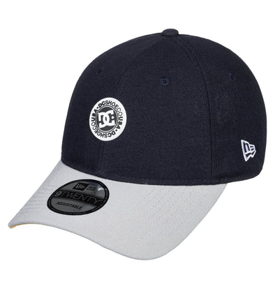 "DC - NEW ERA 9TWENTY ADJUSTABLE ""CROCKER"" DAD CAP. BLACK IRIS from peaknation.co.uk"