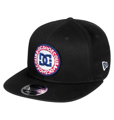 "DC - NEW ERA 9FIFTY SNAPBACK ""SPEEDEATER"" CAP. BLACK (kvj0)from peaknation.co.uk"