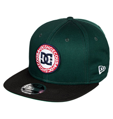 "DC - NEW ERA 9FIFTY SNAPBACK ""SPEEDEATER"" CAP. HUNTER GREEN (grw0)from peaknation.co.uk"