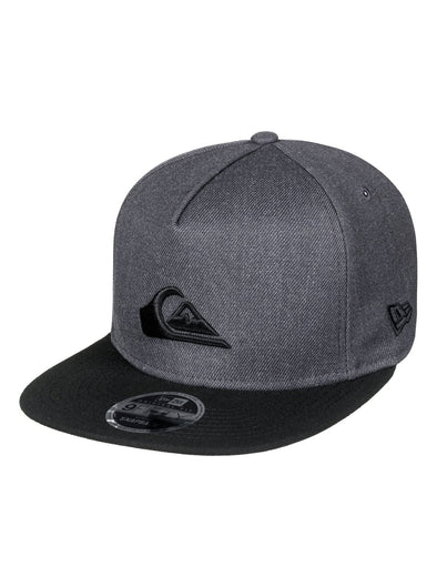 "QUIKSILVER ""STUCKLES"" SNAPBACK CAP. CHARCOAL HEATHER (ktah) from peaknation.co.uk"