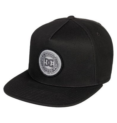 "DC ""CRESTY"" MENS SNAPBACK CAP. ADYHA03646. BLACK (KVJ0) from peaknation.co.uk"