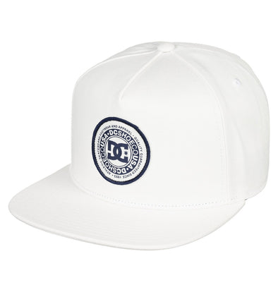 "DC ""CRESTY"" MENS SNAPBACK CAP. ADYHA03646. ANTIQUE WHITE (WCL0) from peaknation.co.uk"