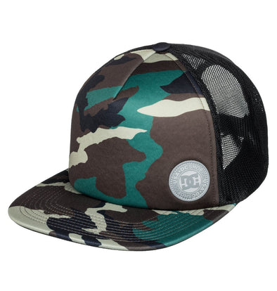 "DC ""BALDERSON"" TRUCKER CAP. CAMO (grw6) from peaknation.co.uk"