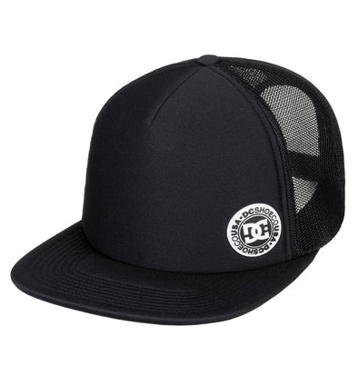 "DC ""BALDERSON"" TRUCKER CAP. BLACK (kvj0) from peaknation.co.uk"