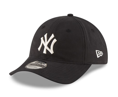 NEW ERA 9TWENTY. LIGHT WEIGHT PACKABLE CAP. NEW YORK YANKEES BLACK from peaknation.co.uk