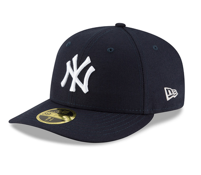 NEW ERA 59FIFTY FITTED CAP. AUTHENTIC TEAM LOW PROFILE - NEW YORK YANKEES from peaknation.co.uk
