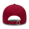 NEW ERA 9FORTY STRAPBACK CAP. LEAGUE ESSENTIAL NEW YORK YANKEES. CARDINAL RED from peaknation.co.uk