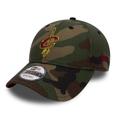 NEW ERA 9FORTY CAP. CAMO TEAM CLEVELAND CAVALIERS from peaknation.co.uk