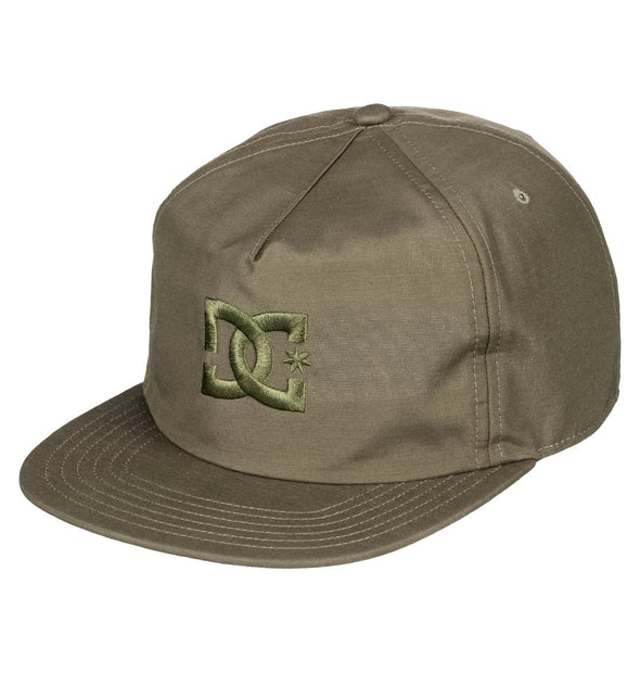"DC ""FLOORA"" STRAPBACK CAP. FATIGUE GREEN (crb0) from peaknation.co.uk"