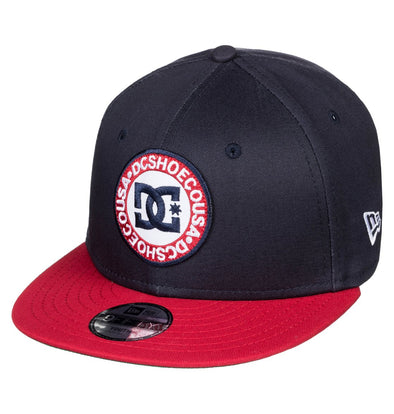 "DC - NEW ERA 9FIFTY ""SPEEDEATER"" BOYS SNAPBACK. BLACK IRIS (btl0)"
