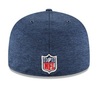 NEW ERA 59FIFTY FITTED CAP. ON FIELD SIDELINE SEATTLE SEAHAWKS from peaknation.co.uk