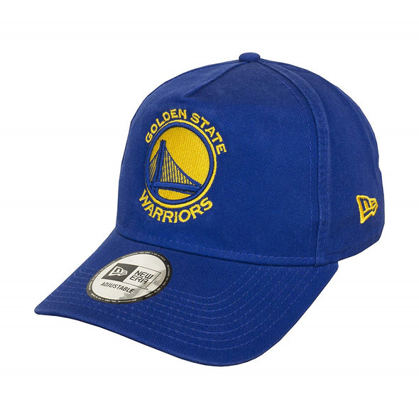 NEW ERA ADJUSTABLE A FRAME CAP. WASHED TEAM GOLDEN STATE WARRIORS from peaknation.co.uk