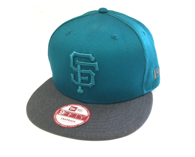 NEW ERA 9FIFTY SNAPBACK CAP. POP TONAL SAN FRANCISCO GIANTS. S/M from peaknation.co.uk