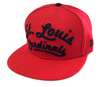 NEW ERA 9FIFTY STRAPBACK CAP. ARCH V SCRIPT ST LOUIS CARDINALS from peaknation.co.uk