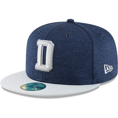 NEW ERA 59FIFTY FITTED CAP. ON FIELD SIDELINE DALLAS COWBOYS