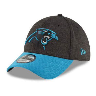 NEW ERA 39THIRTY FITTED CAP. ON FIELD SIDELINE CAROLINA PANTHERS from peaknation.co.uk
