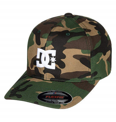 "DC ""CAP STAR 2"" MENS FLEXFIT CAP. GRA0 from peaknation.co.uk"