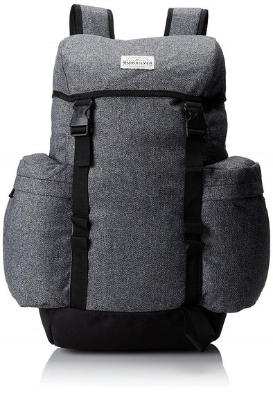 "QUIKSILVER ""ARCH"" MENS BACKPACK. HEATHER GREY"