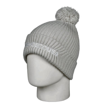 DC SHOES - TRILOGY 2 BEANIE HAT. SILVER BIRCH (WEJ0) from peaknation.co.uk