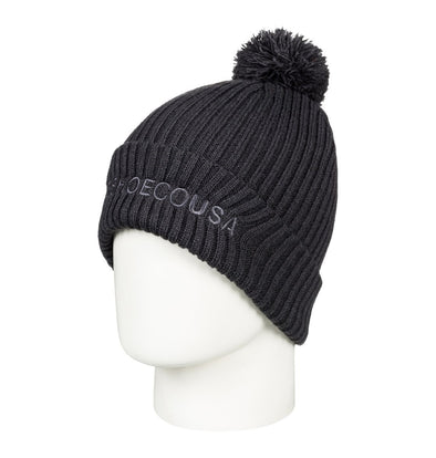 DC SHOES - TRILOGY 2 BEANIE HAT. BLACK (KVJ0)