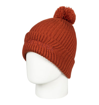 DC SHOES - TRILOGY 2 BEANIE HAT. HOT SAUCE (MNW0)