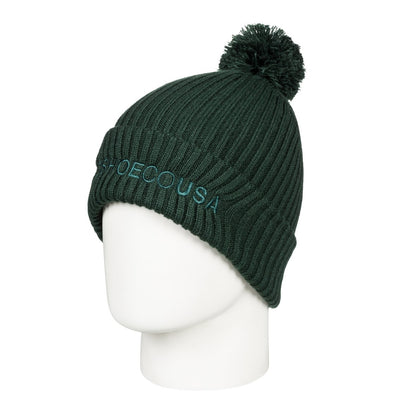 DC SHOES - TRILOGY 2 BEANIE HAT. PINE GROVE (GZF0)  from peaknation.co.uk