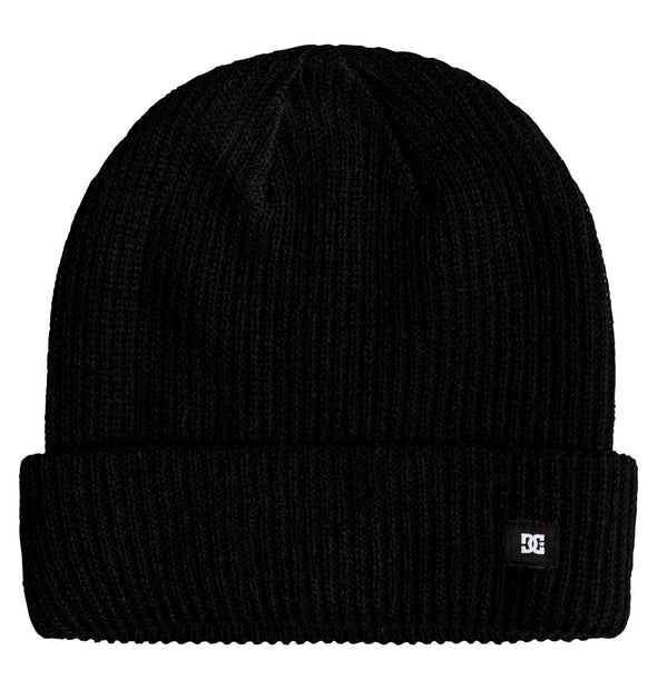 DC SHOES - HARVESTER 2 BEANIE HAT. BLACK (KVJ0) from peaknation.co.uk