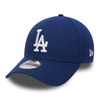 NEW ERA 39THIRTY FITTED CAP. LEAGUE ESSENTIAL LA DODGERS. ROYAL/WHITE from peaknation.co.uk