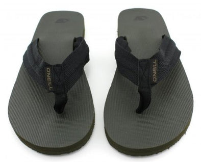 O'NEILL DAX MENS FLIP FLOPS. MILITARY GREEN from peaknation.co.uk