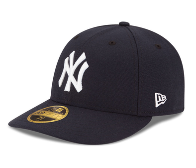 NEW ERA NEW YORK YANKEES LOW PROFILE AUTHENTIC COLLECTION 59FIFTY from peaknation.co.uk