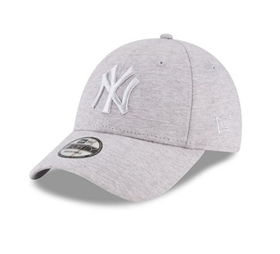 NEW ERA NEW YORK YANKEES JERSEY 9FORTY. GREY/GREY from peaknation.co.uk