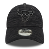 NEW ERA CHICAGO BULLS ENGINEERED FIT 9FORTY. BLACK/GRAPHITE from peaknation.co.uk