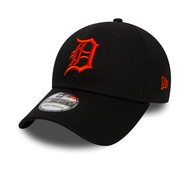 NEW ERA DETROIT TIGERS ESSENTIAL BLACK 39THIRTY. BLACK from peaknation.co.uk