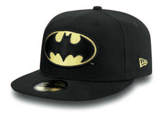 NEW ERA - BATMAN HAT. 59Fifty Fitted Cap. From PeakNation.co.uk